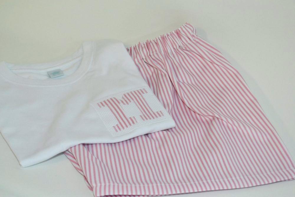 9962a497bbd Pijama hombre mujer de verano personalizado diseño coto blanc