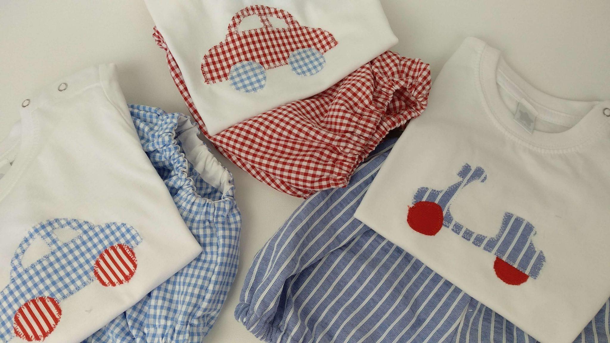 Pijamas iguales para todos los hermanos